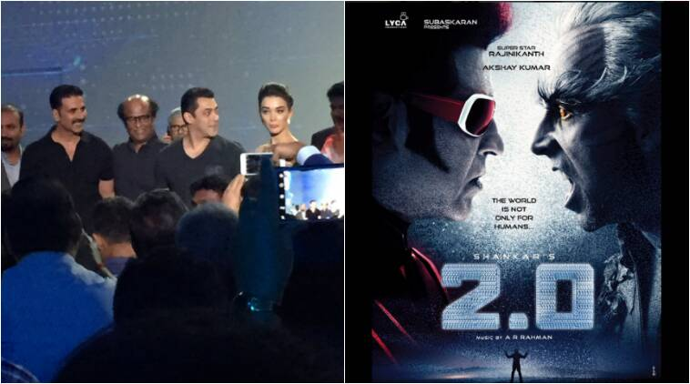 Image result for Akshay-Rajinikanth starrer film '2.0' director shares 'making-of' film video on Twitter