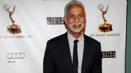 """FILE - In this Sept. 17, 2013 file photo, actor Ron Glass arrives at the 65th Emmy Awards Nomination Celebration at the Academy of Television Arts and Sciences in Los Angeles. Glass, the handsome, prolific character actor best known for his role as Ron Harris, the gregarious, sometimes sardonic detective in the long-running cop comedy """"Barney Miller,"""" has died at age 71. Glass died Friday, Nov. 25, 2016, of respiratory failure, his agent, Jeffrey Leavett, told The Associated Press on Saturday. (Photo by Paul A. Hebert/Invision/AP, File)"""