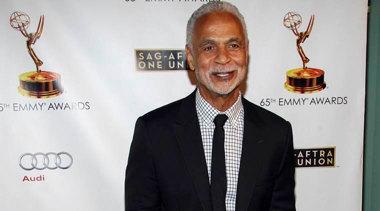 "Ron Glass at the 65th Emmy Awards Nomination Celebration at the Academy of Television Arts and Sciences in Los Angeles. Glass, the handsome, prolific character actor best known for his role as Ron Harris, the gregarious, sometimes sardonic detective in the long-running cop comedy ""Barney Miller,"" has died at age 71. Glass died Friday, Nov. 25, 2016, of respiratory failure, his agent, Jeffrey Leavett, told The Associated Press on Saturday. (Photo by Paul A. Hebert/Invision/AP, File)"