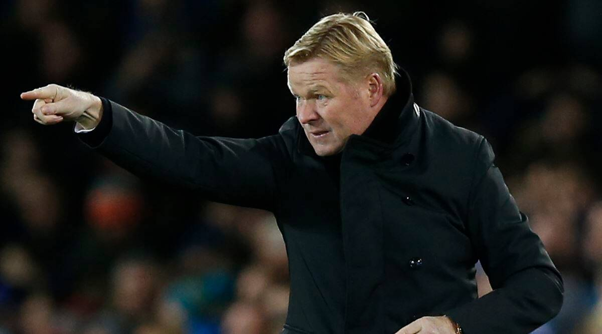 Barcelona Appoint Ronald Koeman As New Manager Sports News The Indian Express