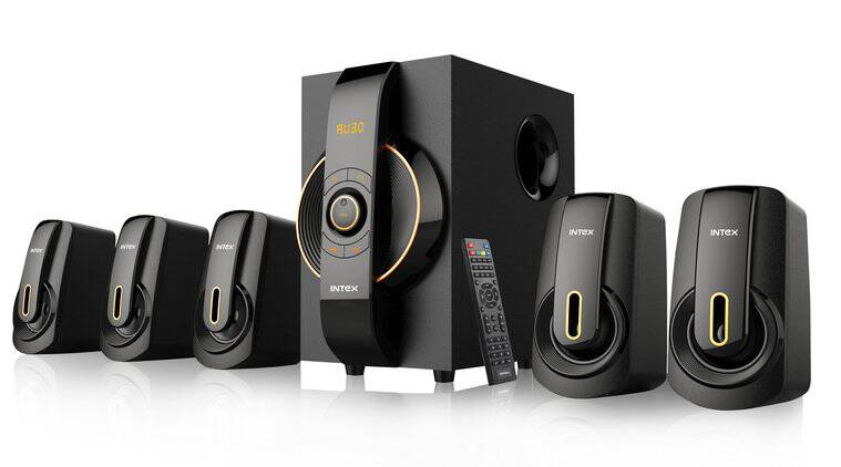 intex, affordable speakers, multimedia speakers, channel speakers, 5.1 speakers, 2.1 speakers, IT 6020 SUFB, IT 9500 SUFB, FM radio speakers, USB/SD card reader speakers, AUX support speakers, LED display speakers, remote control speakers, FM receiver speakers, technology, tech news