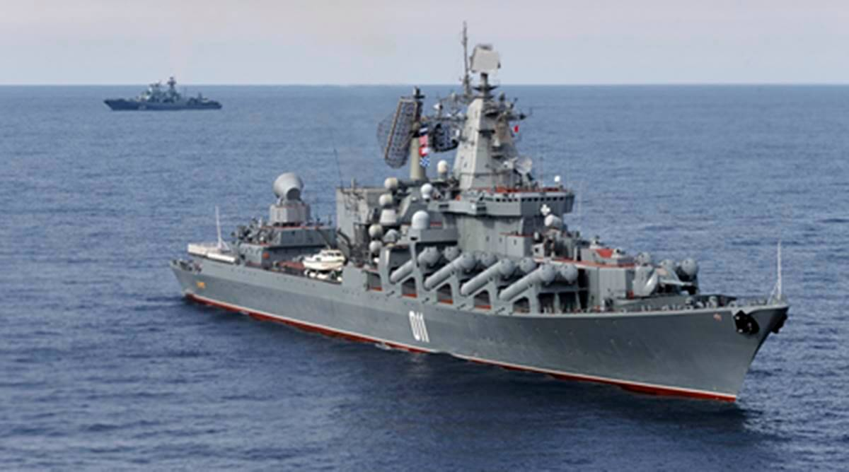 Russian warships, Dutch submarines, Russian warships in Mediterranean, Russian military, Russia news, world news, latest news, indian express