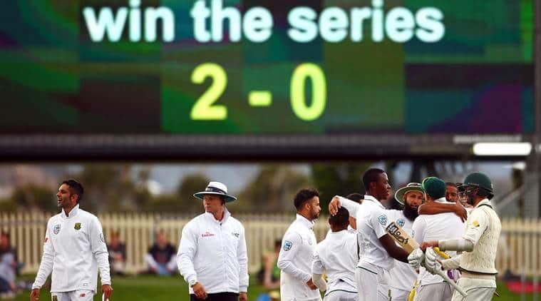 Australia, Australian cricket team, South Africa, South African cricket team, Australia vs South Africa, Aus vs SA, Aus SA Test series, Aus SA Hobart Test, Kyle Abbott, Steve Smith, cricket, cricket news, sports, sports news