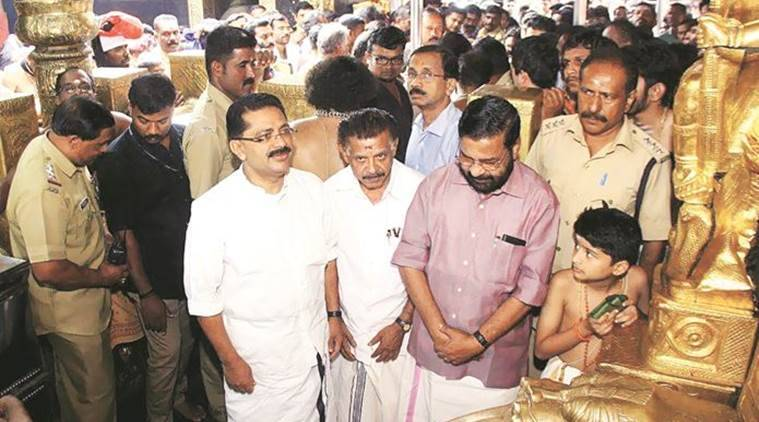 sabarimala, sabarimala temple, muslim minister sabarimala, bjp minister, sabarimala temple entry, india news, indian express
