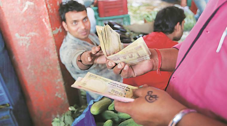 Many wholesalers accepted Rs 500 denomination notes to avoid losses. Narendra Vaskar