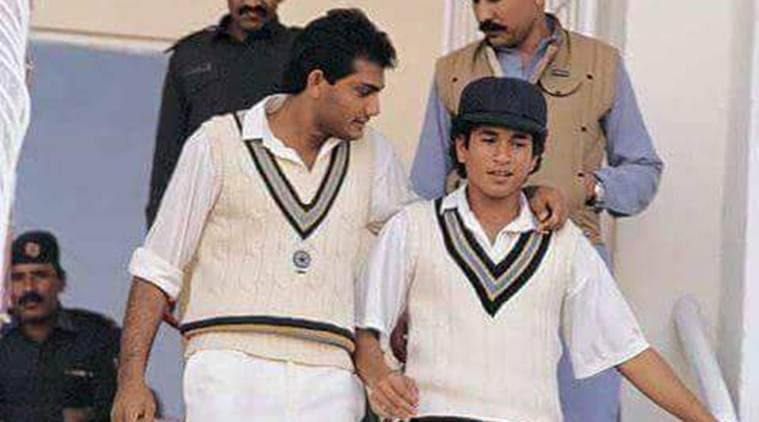 Sachin Tendulkar, Tendulkar, SRT, Sachin Test debut, Sachin debut, Sachin first Test, Waqar Younis, Waqar, Waqar Younis test debut, waqar debut, cricket, cricket news, sports, sports news