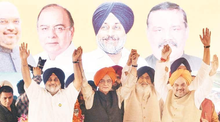 SAD-BJP alliance, 2017 Punjab Elections, Punjab assembly elections, Parkash Singh Badal, Punjab Suba celebrations, Punjab news, india news, latest news, Indian express
