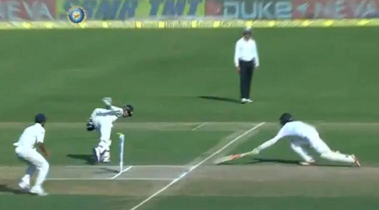 Wriddhiman Saha. Wriddhiman Saha run out video, Wriddhiman Saha run out, Saha run out video, MS Dhoni, India vs England, Ind vs Eng, India England cricket, Ind vs Eng Cricket, Cricket News, Cricket