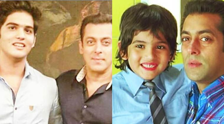 Salman Khan, Salman Khan partner son, Salman Khan onscreen son, Partner child actor, Ali Haji, Ali haji pics