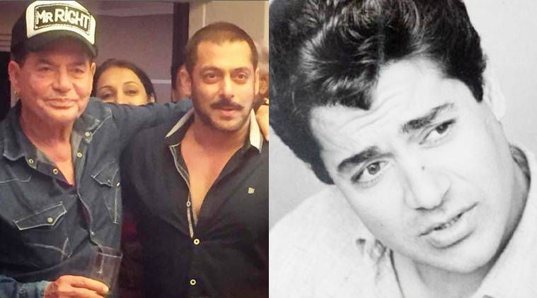 "It is Salim Khan's birthday. Salman Khan tweeted his old pics with caption, ""Happy birthday Dad""."