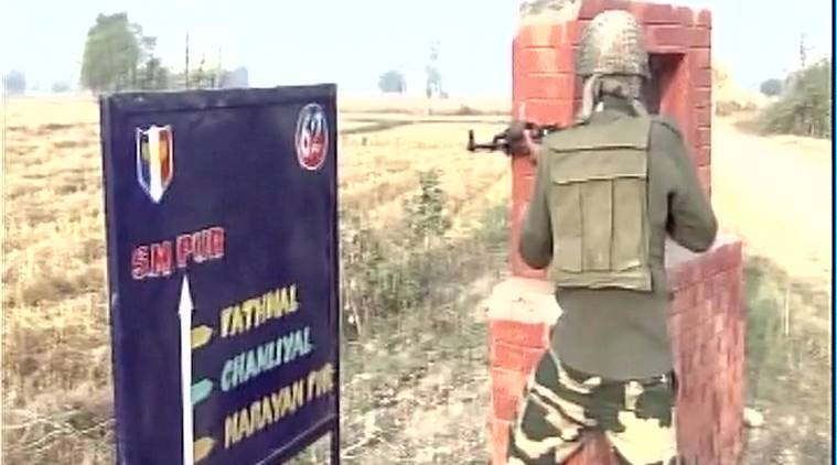 BSF foils border infiltration bid in J&K