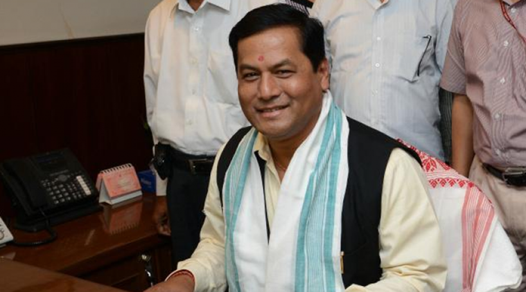 Sarbananda Sonowal, Sarbananda Sonowal  on development, Sarbananda Sonowal  on Assam development, Atal Amrit Abhiyan, Assasm news, Assam development projects, indian express news