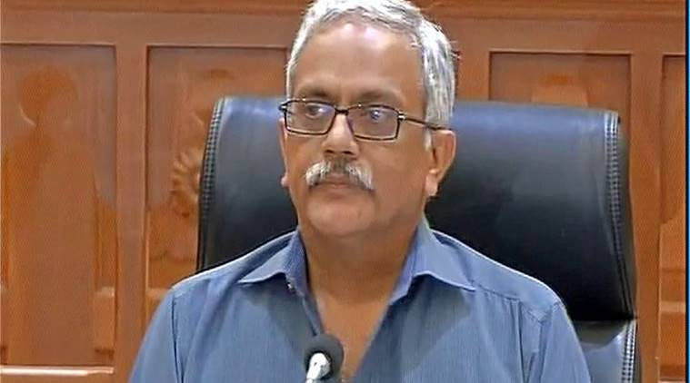 Maharashtra DGP Satish Kumar speaking to reporters on Friday. (Source:Twitter/@ANI_news)