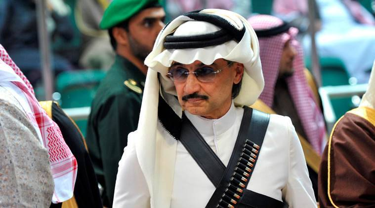 Saudi billionaire, Saudi Arab billionaire, Prince Alwaleed bin Talal, Donald trump, US president elect donald trump, Trump, US president Trump, world news, indian express