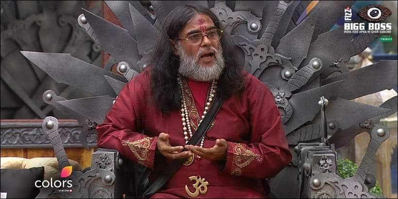 Bigg Boss 10 November 26 review, Bigg Boss 10 November 26 episode, Swami Om, Swami Om bigg boss, bigg boss 10, bigg boss 10 swami, bigg boss 10 salman khan, salman khan