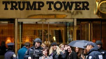 Trump tower, donald trump, US president elect, Google maps, dump tower, Google maps prank, trump prank, trump tower prank, world news, indian express news