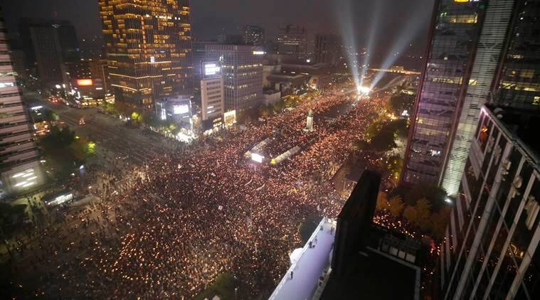 South Korea, South Korea protest, South Korea president, Park Geun-hye, protest against Park Geun-hye, latest news, korea, politics news, latest news, latest world news