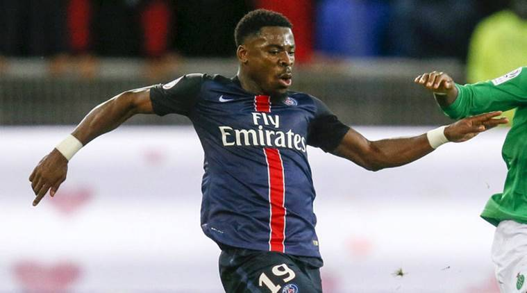 Arsenal vs PSG, PSG vs Arsenal, PSG Serge Aurier, Serge Aurier PSG, Serge Aurier banned, UCL, Champions League, Football news, Football