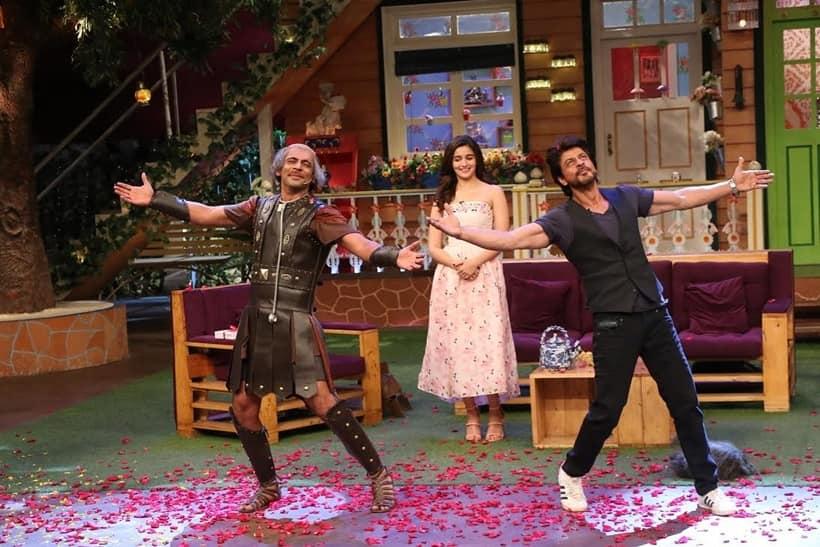 shah rukh khan, alia bhatt, dear zindagi, kapil sharma, the kapil sharma show