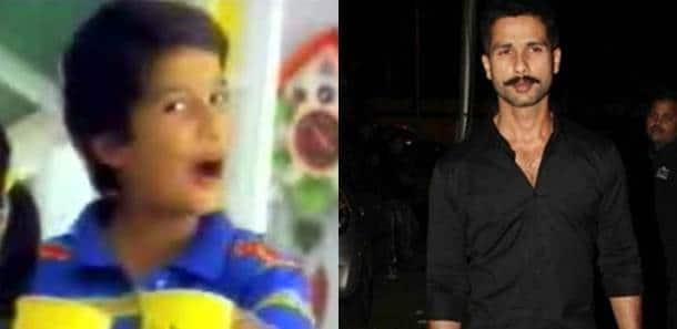 shahid kapoor, shahid kapoor child actor, shahid kapoor childhood image, shahid kapoor image