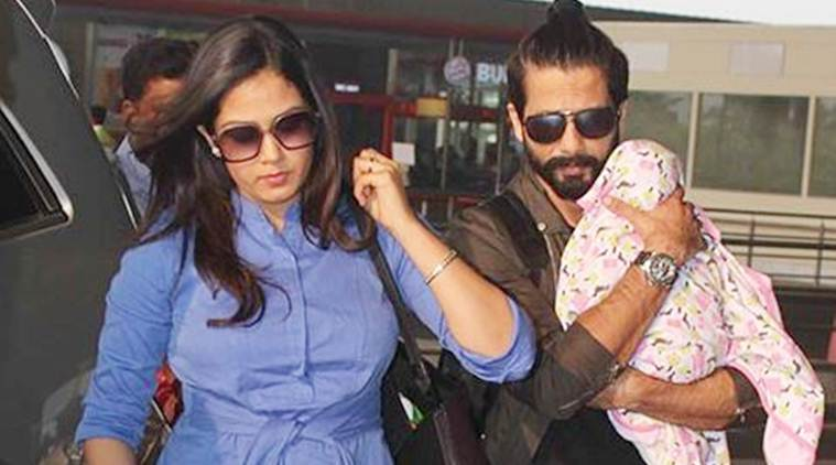 shahid kapoor, shahid kapoor daughter, shahid kapoor misha, misha kapoor, mira rajput, shahid mira, national girl child day, shahid national girl child day, shahid kapoor twitter, shahid kapoor tweet