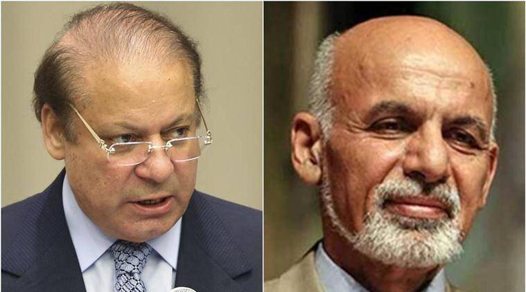 Nawaz Sharif, Ashraf Ghani, pakistan afghanistan, afghanistan pakistan, sharif and ghani, ghani and sharif, pakistan news, afghanistan news, world news