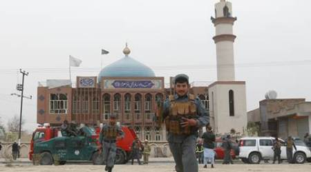 Kabul, Kabul blast, Kabul mosque blast, Kabul shiite mosque blast, kabul blast 32 killed, kabul news, world news, mosque blast, indian express