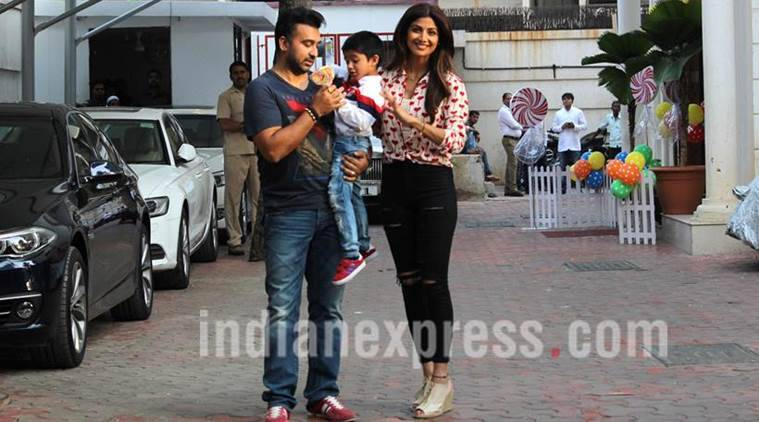 Shilpa Shetty Kundra's four-year-old son Viaan appeared on the stage of dance-based reality TV show, leaving her proud and excited.