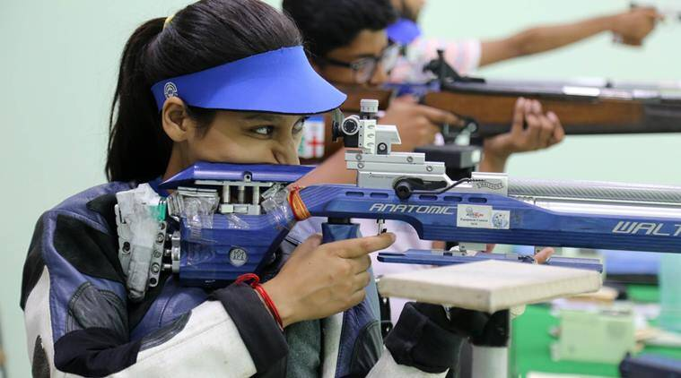Shreyasi Singh, Shreyasi Singh India shooting, Rashmee Rathore, National Shooting Championship, Shooting India, Shooting news, Shooting nationals, sports