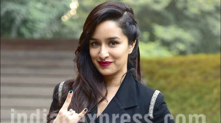 Shraddha Kapoor Rock On 2, Shraddha Kapoor in delhi, Shraddha Kapoor rock on 2 promotions in delhi, Shraddha Kapoor movies, Shraddha Kapoor upcoming movies, Shraddha Kapoor news, Shraddha Kapoor updates, , bollywood news, bollywood updates, entertainment news, indian express news, indian express