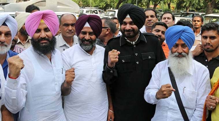 Navjot Singh Sidhu, Sidhu, Sidhu Congress, Sidhu new party, Amarinder Singh, Amarinder, Punjab Congress, Punjab news, india news, latest news, indian express