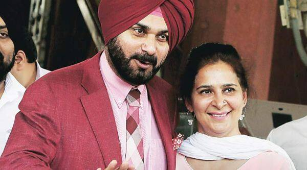 Sidhu and wife Navjot
