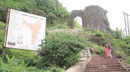 sinhagadh fort, pune fort, pune district collector, sinhagad fort closed, indian express