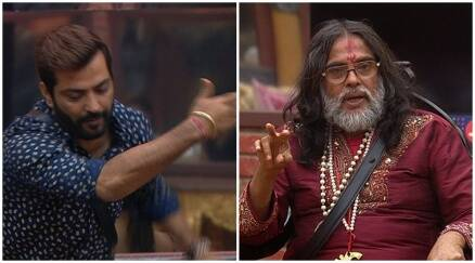 Bigg Boss 10 highlights, Bigg boss 10 yesterday episode, Swami om returns bigg boss 10, pardaphash task bigg boss 10