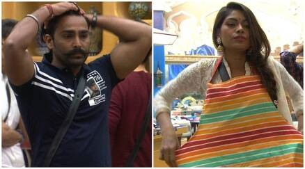 lopamudra-manveer punished, lapa-bani fight, Bigg Boss 10 highlights, Bigg boss 10 yesterday episode,