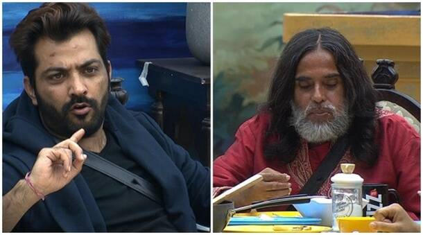 Bigg Boss 10 highlights, Bigg Boss 10 yesterday episode, swami om manoj punjabi fight bigg boss 10, swami om bigg boss 10,