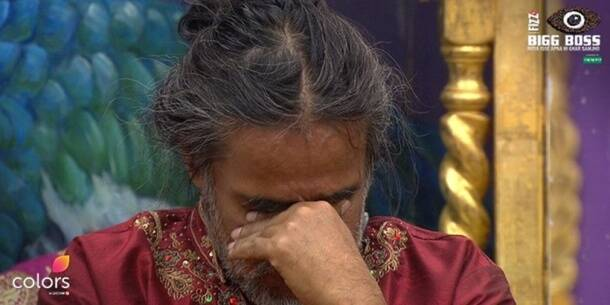 bigg boss 10 highlights, bigg boss highlights, swami om cries, manveer consoles swami, manoj swami om safety, manoj punjabi bigg boss 10, swami om bigg boss 10