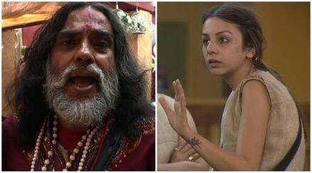 Bigg Boss highlights, big boss yesterday episode, nitibha swami om punished, nitibha bigg boss 10, swami om bigg boss 10