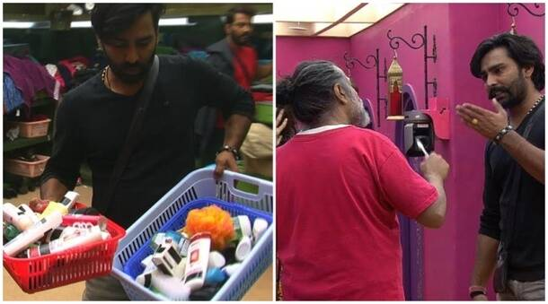 bigg boss 10 highlights, bigg boss highlights, swami om steals, swami om robbery, manoh punjabi, manveer swami om
