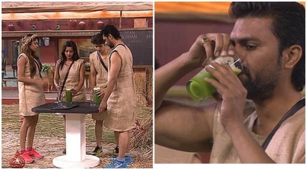 Bigg Boss highlights, big boss yesterday episode, lopamudra gaurav karela juice bigg boss 10, lopamudra wins task bigg boss 10