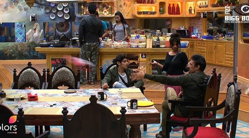 Bigg Boss 10 highlights, Bigg Boss 10 yesterday episode, Lokesh rahul fight bigg boss 10, lokesh bigg boss 10, rahul dev bigg boss 10