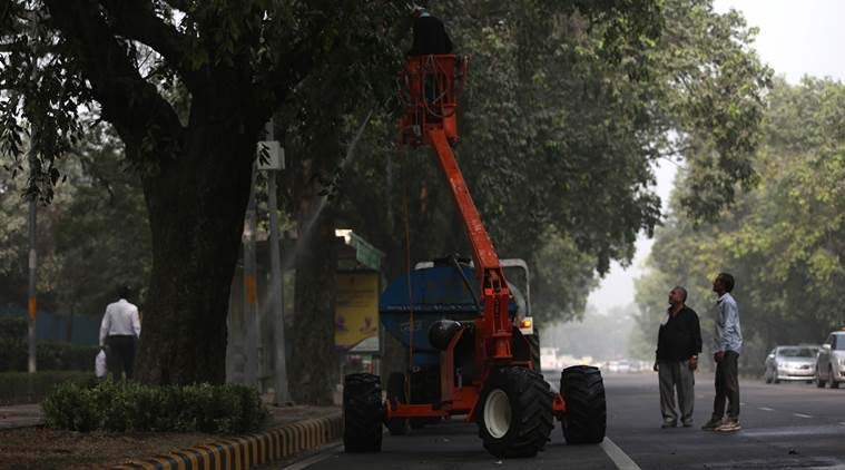 delhi pollution, hazardous air conditions in delhi, Delhi open burning, delhi construction, pollution hazard in delhi, pollution news, DDA pollution, DMC pollution, delhi news, india news, latest news, indian express