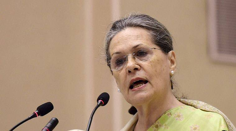 Sonia Gandhi, MPs, Parliament, Sonia Gandhi-70th birthday, Parliamentarians, India news, Indian Express