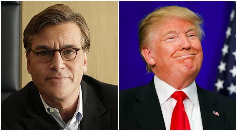donald trump, Aaron Sorkin, aaron sorkin donald trump, aaron sorkin trump, aaron sorkin open letter, aaron sorkin daughter, aaron sorkin president, aaron sorkin vanity fair, donald trump hollywood celebrities, donald trump hollywood, trump hollywood, hollywood news, indian express news, indian express