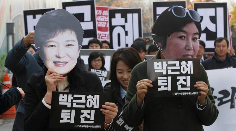 south korea protests, seoul protests, south korea leader, south korea president, protests against south korea president, park geun-hye, Park Geun-hye scandal, south korea scandal, world news