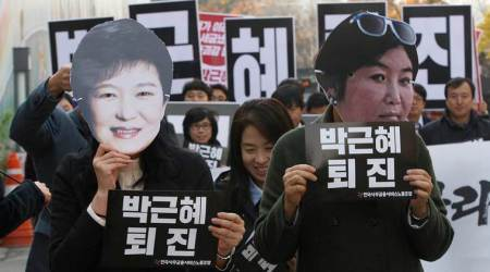 South Korea,Park Geun-hye, South Korean president Park Geun-hye, South Korean president, S Korea, Korea, Korea tension, Saenuri Party, Park Geun-hye, Protests, Criminal probe, Investigation, Opposition, President Park, world newsw