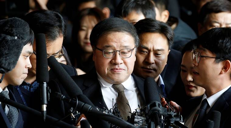 South Korea, South Korea political scandal, Park Geun-hye, south korea corrption scandal, An Chong-bum, Choi Soon-sil, South Korean president, world news, Indian express news