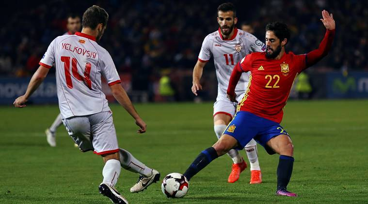 Spain, Spain football team, Macedonia, Macedonia football team, Spain vs Macedonia, Spain Macedonia World Cup qualifier, World Cup qualifier, World Cup 2018, World Cup 2018 qualifier, football, football news, sports, sports news