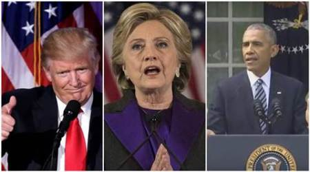 In the speeches of Donald Trump, Hillary Clinton and Barack Obama, a bid to set differences aside and work for 'unifiedAmerica'