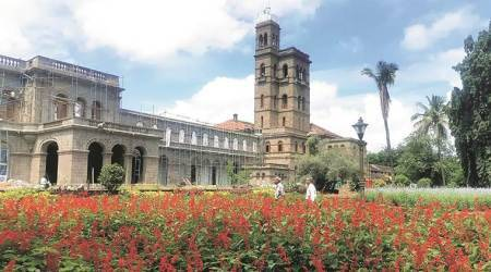 Pune University, Pune University vegetarianism, teetolaler pune university, medal row Pune University, Pune University meat row, Savitribai Phule Pune University, indian express, india news